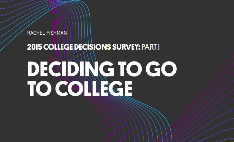 deciding to go to college