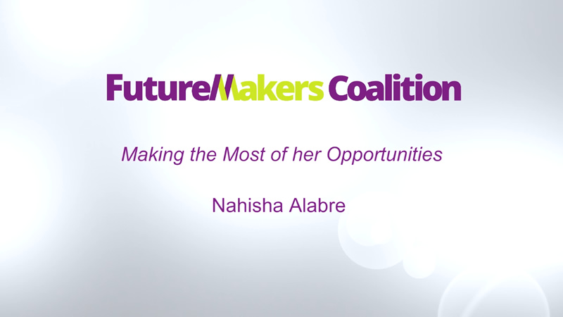 Making the Most of her Opportunities: Nahisha Alabre