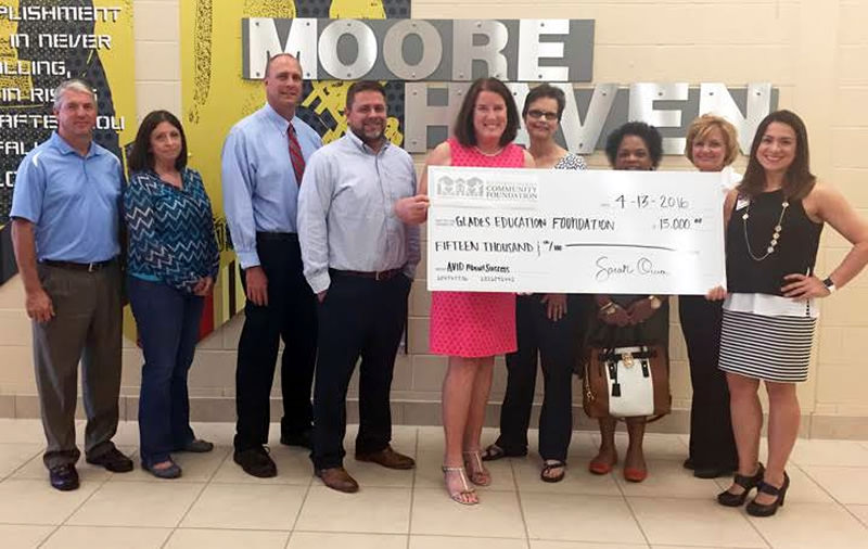 Glades Education Foundation Receives Grant