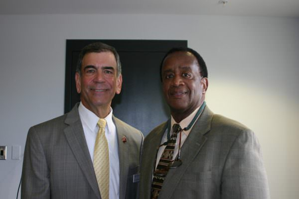 Dr. David Borofsky and Dr. Wilson Bradshaw