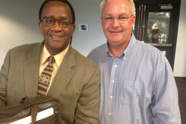 Dr. Wilson Bradshaw and Mike Boose