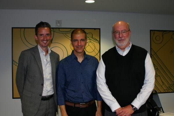 Jack Hess, Dave Fleming, John Burnett