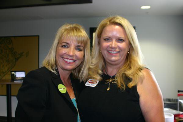 Sarah Owen and Diana Willis