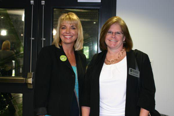 Sarah Owen and Mary Beth Geier
